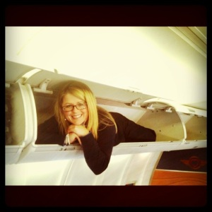 Lori In The Sky With Peanuts...